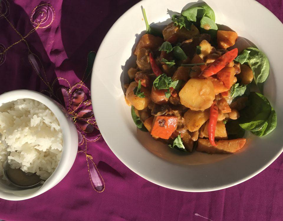 indisches korma vegan